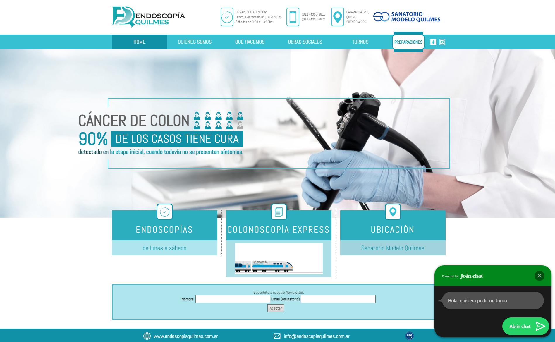 endoscopiaquilmes.com.ar