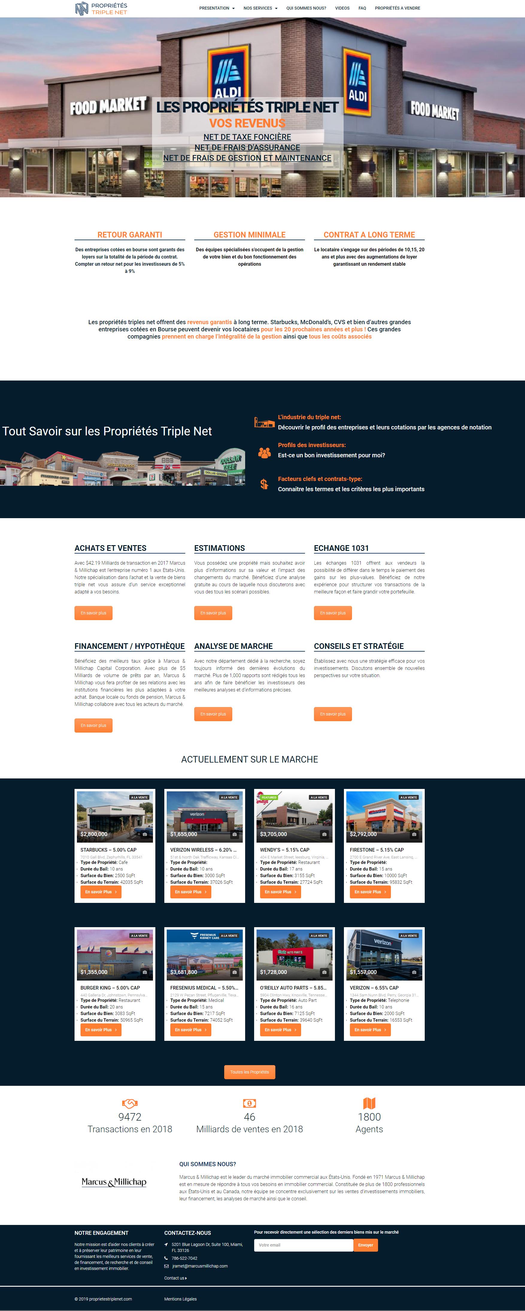 proprietes-triple-net.com